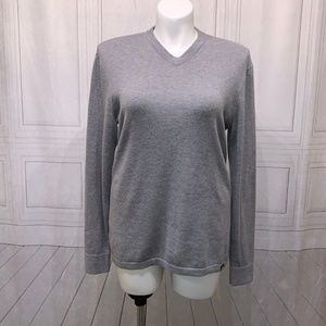 The North Face V-Neck Sweater Gray L